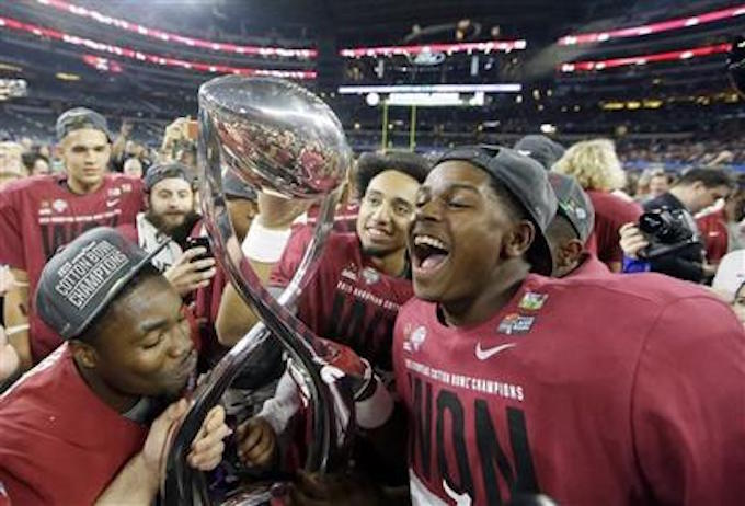 Ratings plunge for New Year's eve college football playoff