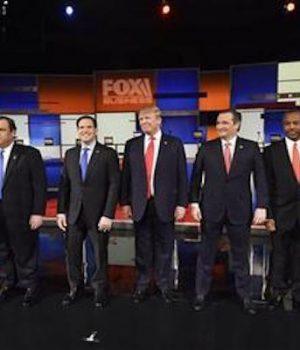 Trump, Cruz assert their top standing in GOP debate