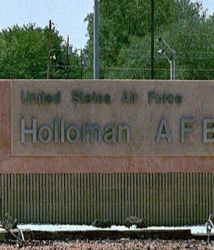 Illegal alien children arrive at Holloman