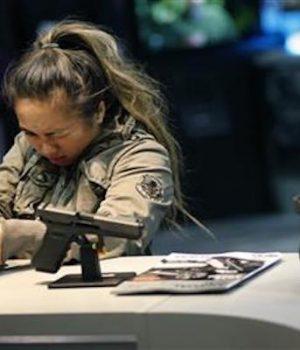 Regulatory moves don't dampen big gun industry show in Vegas