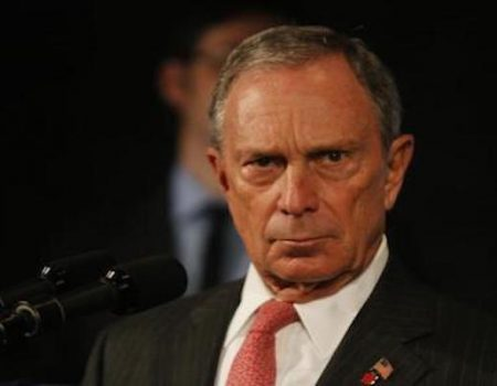 Michael Bloomberg stops pretending to be a Republican