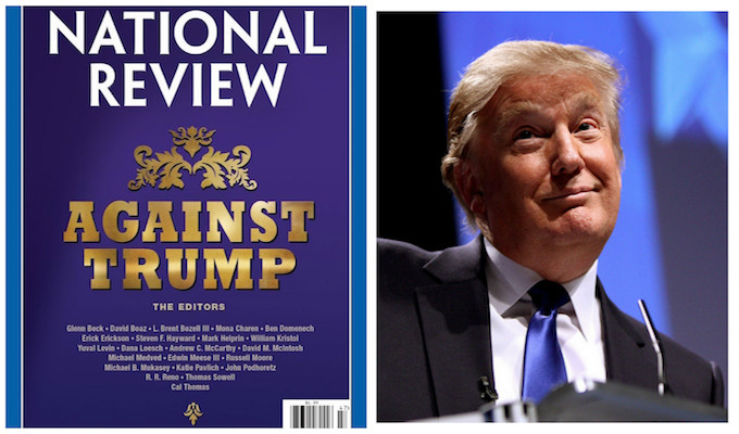 National Review Under Fire