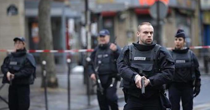 Man shouting 'Allahu akbar' shot dead at Paris police station