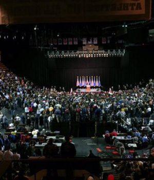 Palin joins Trump at Oklahoma rally