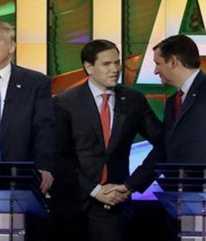 GOP debate turns into brawl