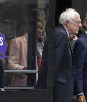 Sanders turns to Sharpton following NH win