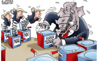 Donald Trump is on a winning streak and the Republican establishment is getting nervous that he may continue popping up.
