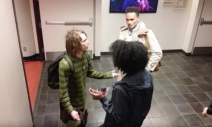 The latest ridiculous college debate?  White person confronted for wearing dreadlocks