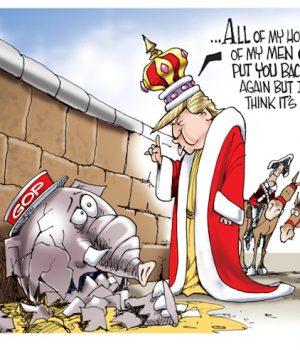 GOP Humpty Dumpty