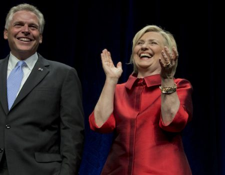 Terry McAuliffe, Clinton money man, discovers morals