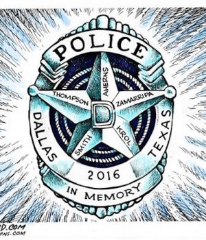 Dallas Police Officers RIP