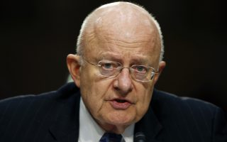 Director of the National Intelligence James Clapper.  (AP Photo/Alex Brandon)
