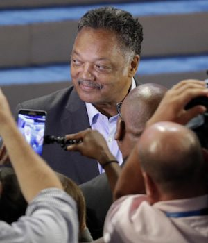 Jesse Jackson, Hillary's character witness, blames 'assault weapons' for dead cops