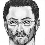 Sketch of gunman released by NYPD.