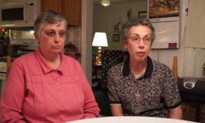 Sisters Paula Merrill and Margaret Held