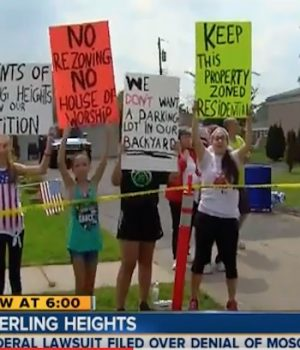 Muslims sue Sterling Heights after city rejected mosque