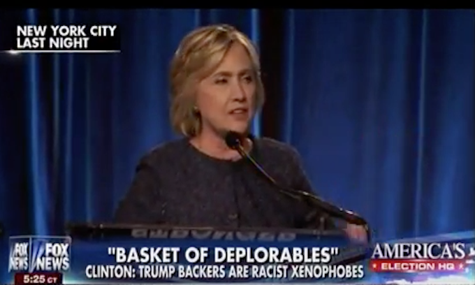 32828c4840 Hillary Clinton: 'Last several years' under Trump have been 'truly  deplorable'