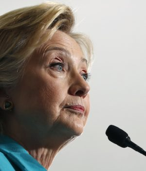Hillary says she 'wouldn't rule out' challenge to election results almost a year later