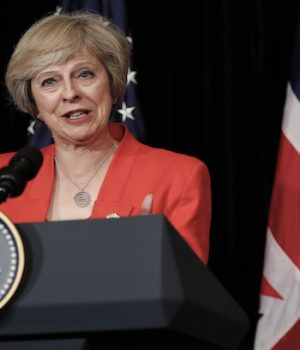Calls made for Theresa May's job over Brexit as government in chaos before Trump visit