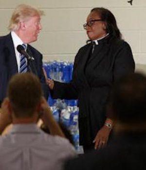 Did Flint Preacher Set a Trap for Trump?