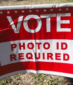 The only way to stop coming voter scams is photo ID