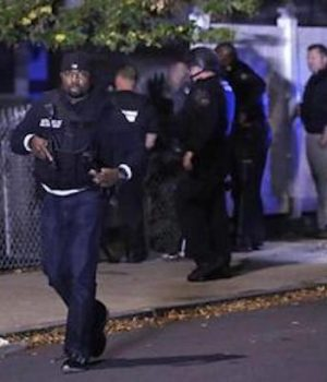 2 Boston police officers critical after domestic call, armored rifleman dead