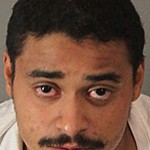 This Sunday, Oct. 9 2016 photo released by the Riverside County Sheriff's Department shows suspect John Felix, who was apprehended early Sunday after a lengthy standoff and faces charges including multiple counts of murder on a peace officer. Police said Felix suddenly pulled out a gun and opened fire on the officers who had responded to a family disturbance call Saturday. (Riverside County Sheriff's Department via AP)