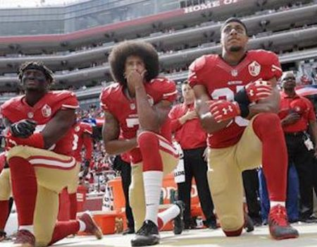Teachers union gives anthem protestor Kaepernick its 'highest honor'