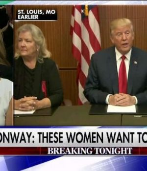 Trump brings Clinton women to debate; lets them speak