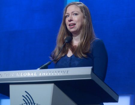 'Outraged' Chelsea Clinton hints at eventual run for office