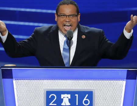 Muslim Democrat Ellison denies abuse allegations from ex-girlfriend