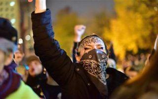 November 2016 - Anti-Trump thugs riot in Portland, OR.