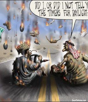 Terrorism on Standard Time