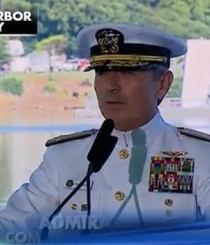 Admiral calls out Kaepernick during Pearl Harbor speech