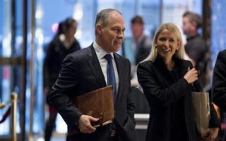 (File) Oklahoma Attorney General Scott Pruitt arrives at Trump Tower in New York, Wednesday, Dec. 7, 2016. (AP Photo/Andrew Harnik)