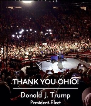 'Old rules no longer apply,' Donald Trump says in Ohio 'thank you' rally
