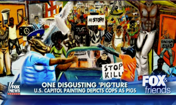 Yet Another Congressman Removes Controversial Painting From Capitol Walls
