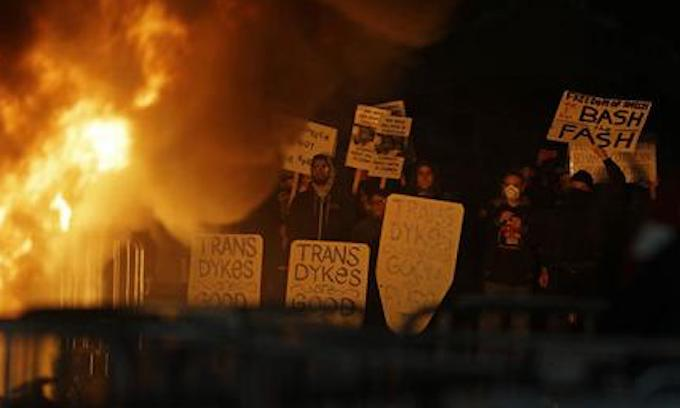 Image result for Who knew there were so many homophobic, racist xenophobes at Berkeley