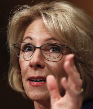 Betsy DeVos urges state legislators to take on foes of campus free speech