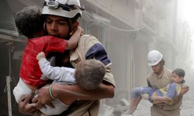 Image result for syria chemical attack Childrens