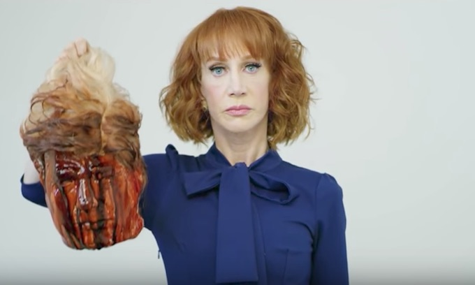 The Left's Kathy Griffin unleashes profanity-laced tirade at Melania Trump