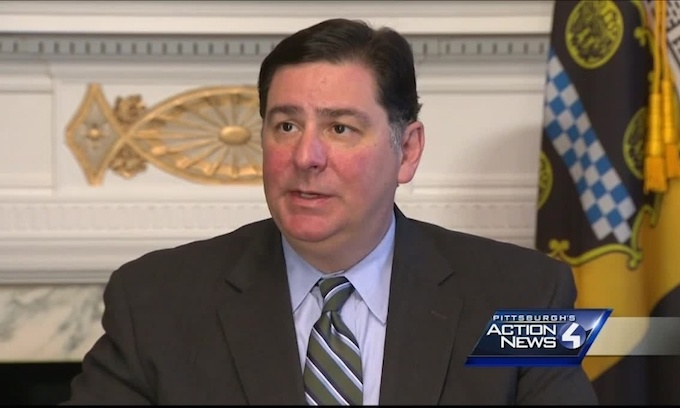 Peduto offended that Trump put Pittsburgh before Paris