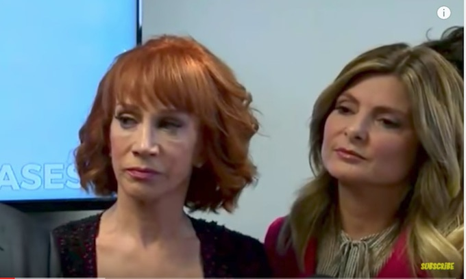 Kathy Griffin: President Trump is 'trying to ruin my life'