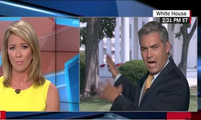 CNN's Jim Acosta melts down over 'useless' Sean Spicer ...