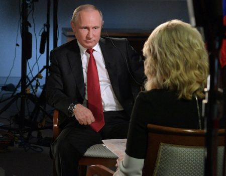 Putin to Megyn: Have you all lost your senses over there?
