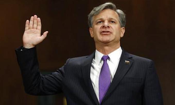 FBI nominee Christopher Wray asserts loyalty to Constitution, not president