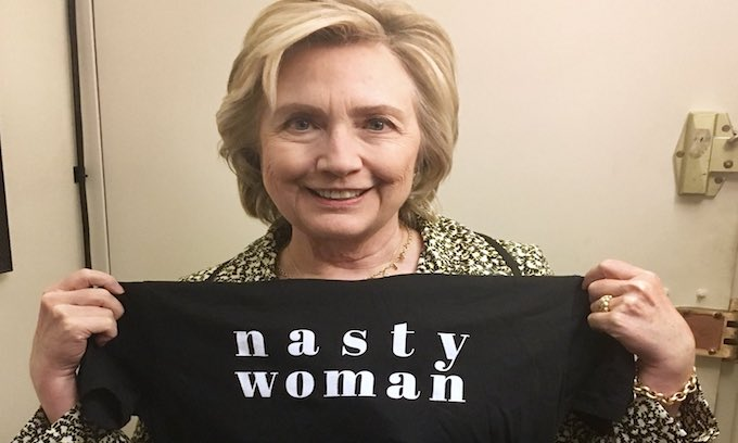 Hillary sends message of support to 'activist bitches'