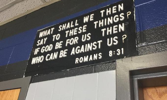 Atheist challenging Knoxville police plaque: 'We are not fighting religion'