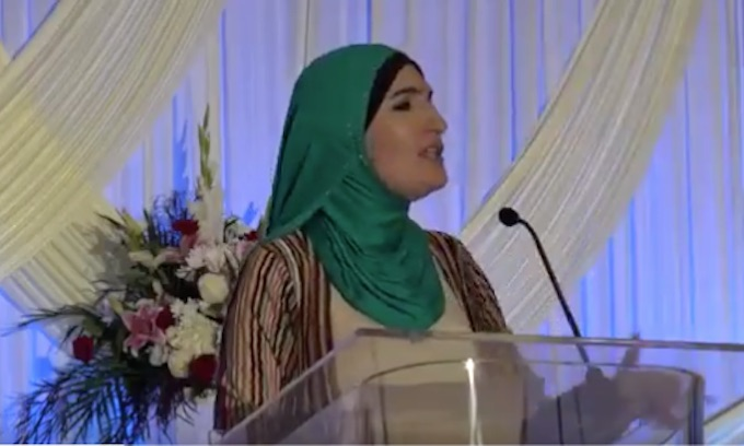 ACLU 'stands with' anti-Israel Sharia advocate Linda Sarsour