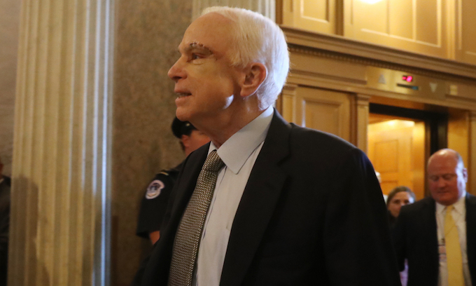 McCain will try to force vote on his own foreign policy on Afghanistan